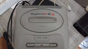 Mega Drive 3 Com Jogo 60 Na Memoria