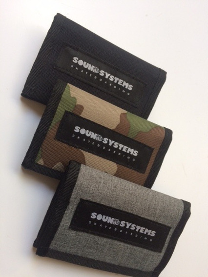 Billetera Velcro Sound Systems Cordura