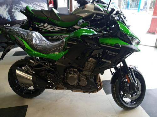 Imagen 1 de 14 de Kawasaki Versys 1000 Abs 2021 0km Verde
