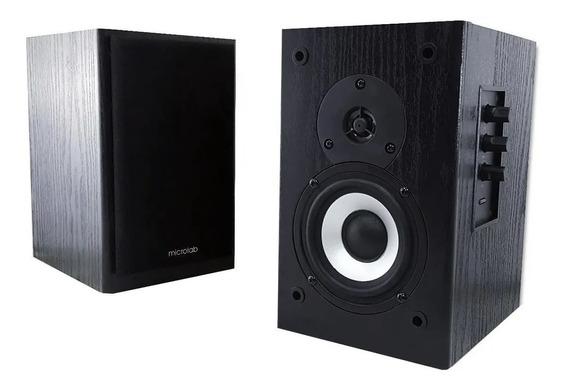 Monitor De Audio Caixa Microlab Ativo B72 24w Rms 2.0 (razer