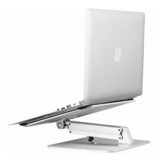 Base Ajustable Para Laptop Aluminio Inclinable Macbook iPad