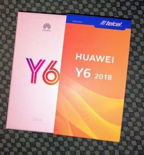Celular Huawei Y6 2018 Nuevo Telcel
