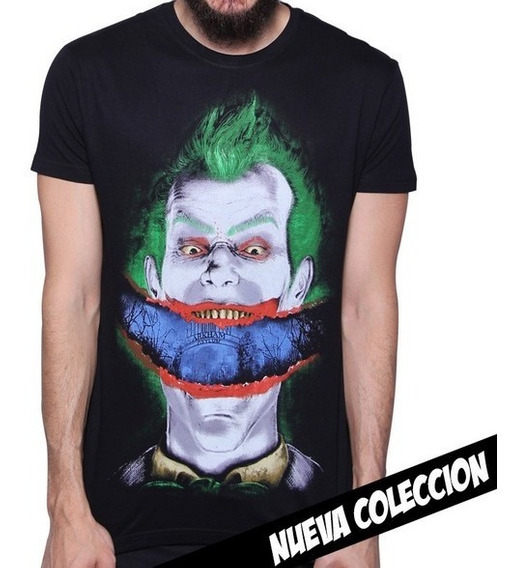 Playera King Monster Mod: Joker Smile Arkham