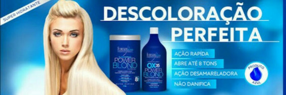Forever Liss Pó Descolorante E Ox 35 Volumes