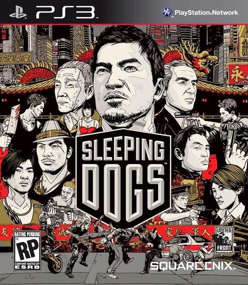 Jogo Sleeping Dogs Playstation 3 Ps3 Mídia Física Squareenix