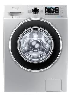 Lavarropas automático Samsung WW90J5410G plata 9kg 220V