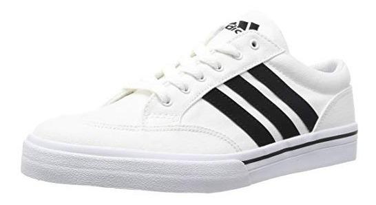 Tenis adidas Canvas En Color Blanco. Envio Gratis