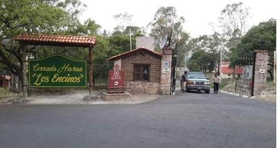 Venta De Terreno En Fraccionamiento Campestre Haras Del Bosque, Amozoc. Cluster Los Encinos
