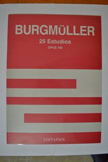 Metodo Burgmuller Para Piano Op.100