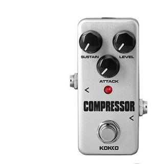 Pedal Kokko Fcp2 Mini Compressor Para Guitarra O Bajo