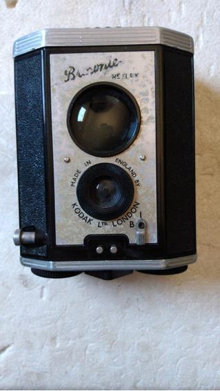 Antiga Maquina Fotográfica Kodak Brownie Heflex