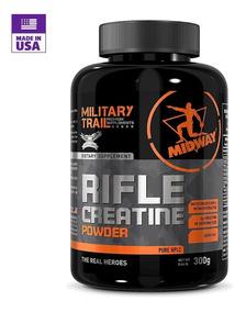 Creatina Monohidratada E Micronizada Rifle 300g - Midway