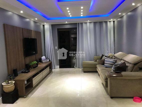 Apartamento Com 3 Dorms, Chácara Agrindus, Taboão Da Serra - R$ 509 Mil, Cod: 3834 - V3834