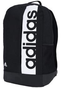 Mochila adidas Linear Classic Preto Branco Original