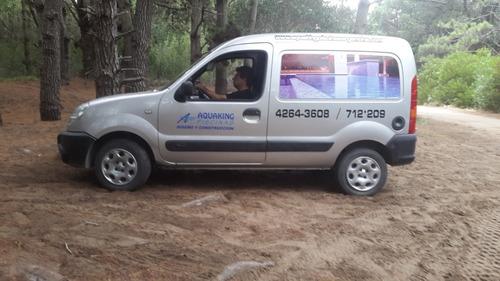 Renault Kangoo Confort Furgon Año 2011 1,6 Con Gnc