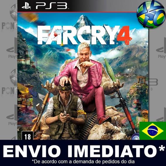 Far Cry 4 Ps3 Psn Dublado Português Pt Br Jogo Em Promoção