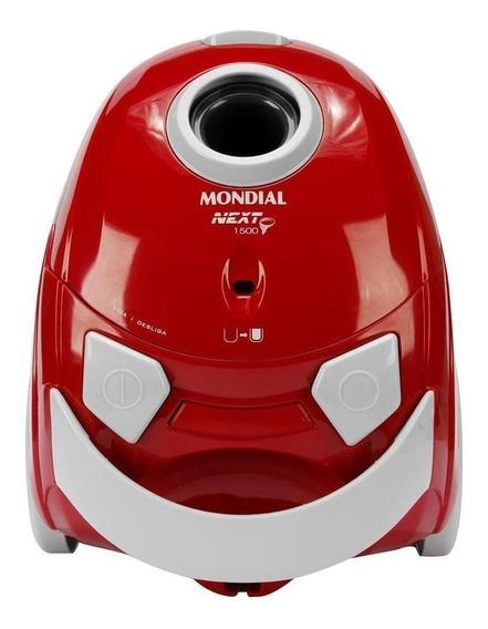 Aspirador Mondial Next 1500 1.5L vermelho e preto 110V