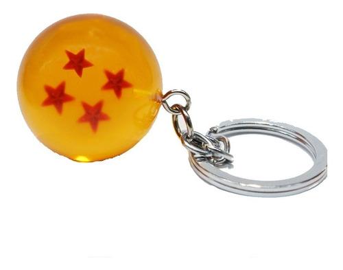 Llavero De Esfera 4 De Dragon Ball Z Exclusivo Coleccion