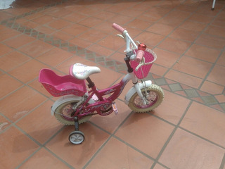 Bicicleta Nena R12 Raleigh Mod. Cupcake Usada Exc Estado