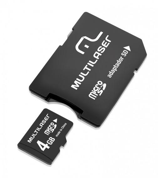 Multilaser Cartão De Memória Microsd Card 4gb
