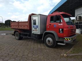 Caminhão Vw 13170 Caçamba + Cabine Auxiliar.