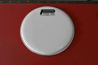 Parche Para Batería Remo Power Beat Blanco 10