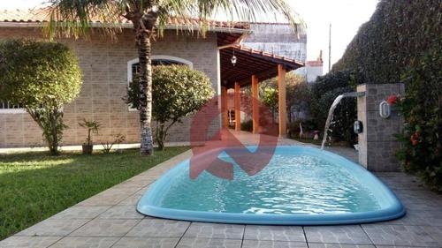 Imagem 1 de 18 de Casa Com 3 Dormitórios À Venda, 153 M² Por R$ 510.000,00 - Solemar - Praia Grande/sp - Ca0218
