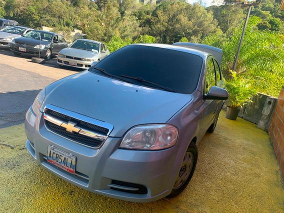 Chevrolet Aveo Lt 2001 Gris 4 Puertas