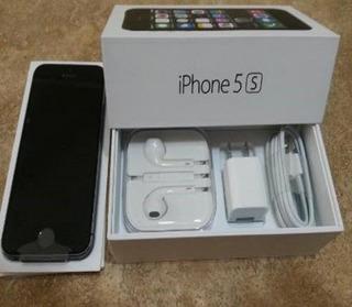 iPhone 5s 16gb En Caja Mica Vidrio Audifonos Buena Estética