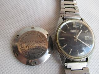Antiguo Reloj Citizen 21 Rubies Automatico Funcionando #l