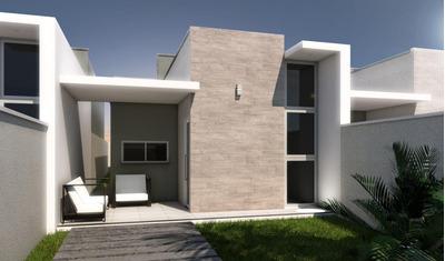 Casa Em Urucunema, Eusébio/ce De 85m² 3 Quartos À Venda Por R$ 210.000,00 - Ca195375