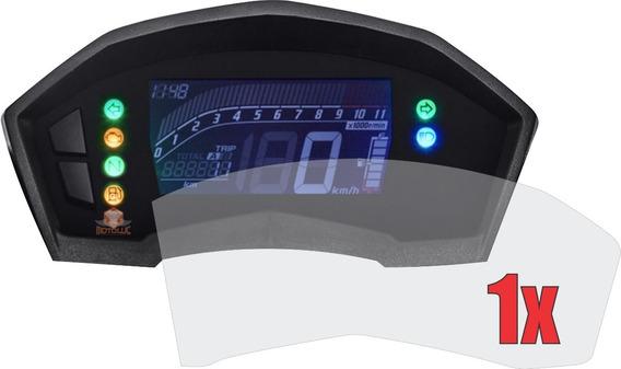1 X Película Protetora De Painel Honda Twister 250 Anti Impacto Anti Risco 9h Nano Glass