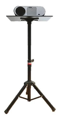 Tripie Base Soporte Para Proyector Ajustable Acero Liviano