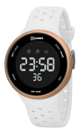 Relógio X Games Feminino Xfppd059 Pxbx Branco - Refinado