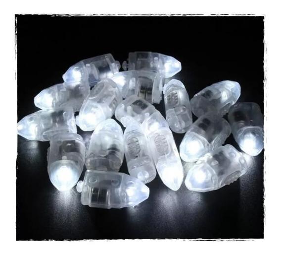 Luz Blanca Para Globos Led X50 Luces Led Decoracion Cotillon