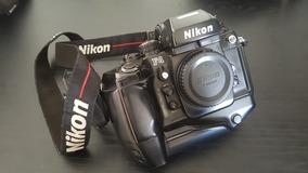 Camera Analogica F4 Nikon 35mm Em Ótimo Estado