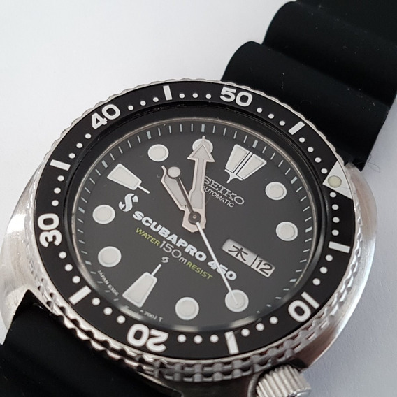 Seiko Scuba Diver 6306 7001 Automático 21j Turtle Yy #545