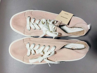 Tenis Pull And Bear Rosa 26, Zara, Bershka.