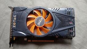 Placa De Vídeo Pc Geforce Gtx 550ti 1gb Gddr5 Zotac