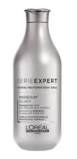 Shampoo Loreal Profesional Silver X 300 Ml Grises Y Blancos