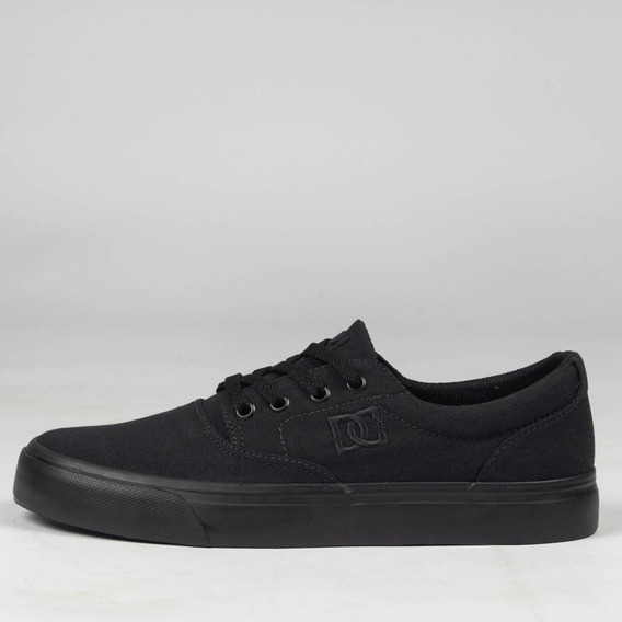 Tênis Preto Total Dc Shoes Tx Black/black Skate Original