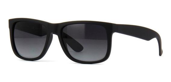 Óculos Masculino Justin Polarizado Quadrado Uv400 + Case
