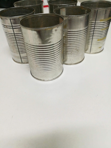 Latas Vacías Tomate X 3 Un. Artesanías Souvenir