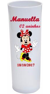 Copo Long Drink 330 Ml Minnie 100 Unidades