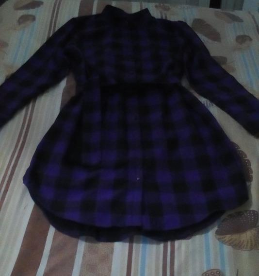 Vestido O Blusa Estilo Camisero