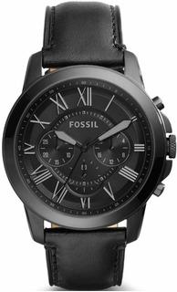 Reloj Fossil Fs5132 Correa De Cuero - 100% Nuevo Y Original