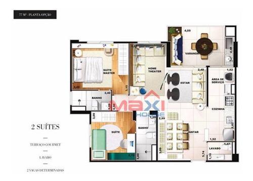 Apartamento Residencial À Venda, Centro, Osasco - Ap0701