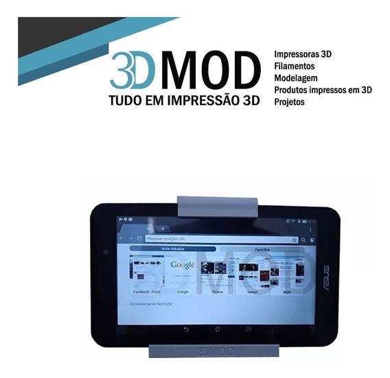 Suporte iPad Tablet Até 1 Cm Sem Furo De Parede