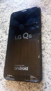 Celular Barato LG Q6 (tela Quebrada)