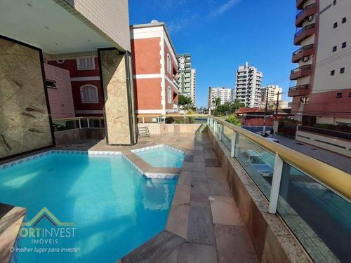Imagem 1 de 30 de Apartamento Com 3 Dormitórios À Venda, 88 M² Por R$ 370.000,00 - Tupi - Praia Grande/sp - Ap2803